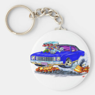 Porte-clés Voiture 1972 de bleu de Monte Carlo