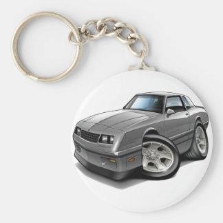 Porte-clés Voiture 1983-88 de gris de Monte Carlo
