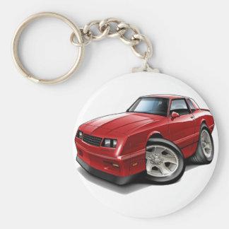 Porte-clés Voiture 1983-88 de rouge de Monte Carlo