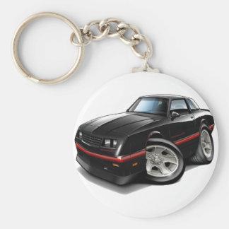 Porte-clés Voiture 1983-88 noire de Monte Carlo
