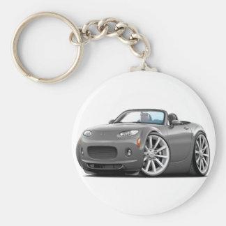 Porte-clés Voiture 2006-08 de gris de Miata