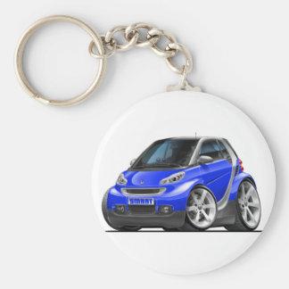 Porte-clés Voiture bleue intelligente