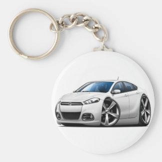 Porte-clés Voiture de blanc de dard de 2013 Dodge