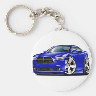 Porte-clés Voiture de bleu du chargeur droite de Dodge