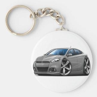 Porte-clés Voiture de gris de dard de Dodge