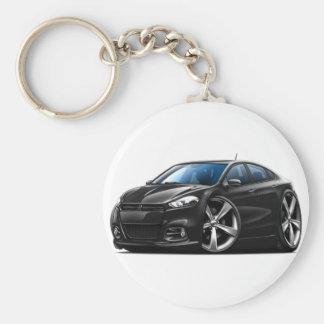 Porte-clés Voiture de noir de dard de Dodge