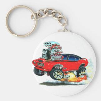 Porte-clés Voiture de rouge de 1968 GTO