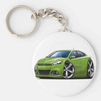Porte-clés Voiture de vert de dard de Dodge
