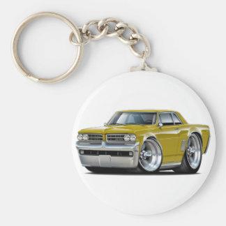Porte-clés Voiture d'or de 1964 GTO