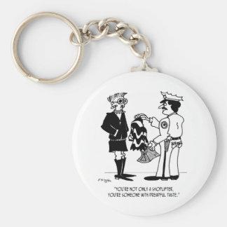 Porte-clés Vol à l'étalage de la bande dessinée 3013
