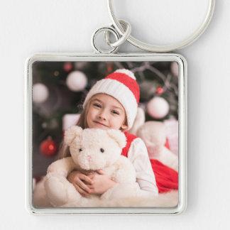 Porte-clés Votre photo personnelle de Noël