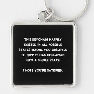 Porte-clés Vous vous êtes effondrés il ! Humour de physique