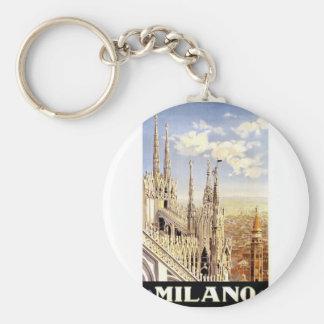 Porte-clés Voyage vintage de Milan