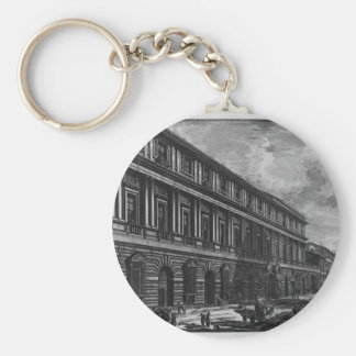 Porte-clés Vue de par l'intermédiaire de del Corso, le palais