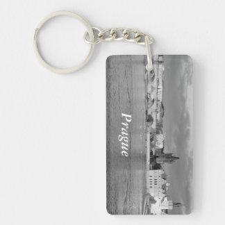 Porte-clés Vue du pont de Charles à Prague