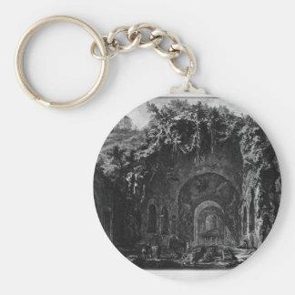 Porte-clés Vue du temple de Camene par Giovanni Battista