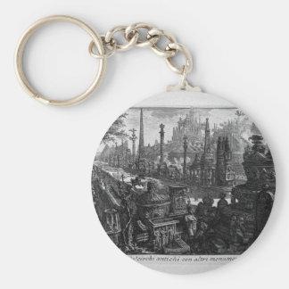 Porte-clés Vue d'un de monuments dans le cirque antique