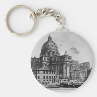 Porte-clés Vue intérieure de la basilique de St Peter