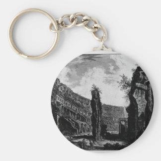 Porte-clés Vue intérieure de l'amphithéâtre de Flavian