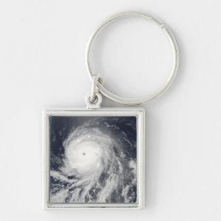 Porte-clés Vue satellite d'ouragan Celia