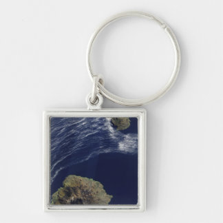 Porte-clés Vue satellite du prince Edouard Islands