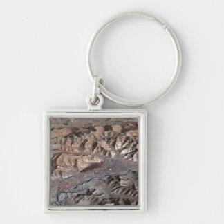 Porte-clés Vue tridimensionnelle du paysage