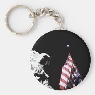 Porte-clés wEarth de drapeau à l'arrière-plan