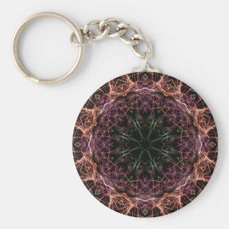 Porte-clés Web de porte - clé de kaléidoscope de couleur
