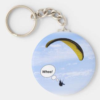 Porte-clés Whee ! Parapentisme dans le porte - clé de nuages