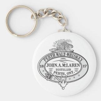 Porte-clés Whiskey de malt de McLaren 1817