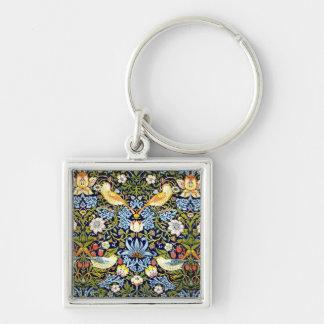 Porte-clés William Morris - motif de voleur de fraise