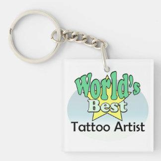 Porte-clés World's le mieux le Tattoo Artist