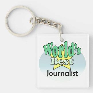 Porte-clés World's meilleur le journaliste
