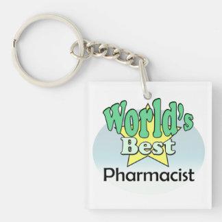 Porte-clés World's meilleur Pharmacist