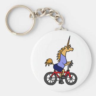 Porte-clés XX bande dessinée de bicyclette d'équitation de li