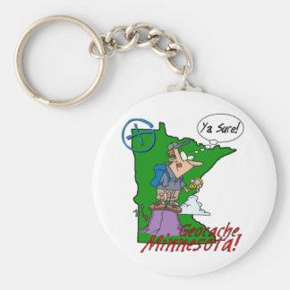 Porte-clés Ya Sure ! Porte - clé #2 du Minnesota Cacher