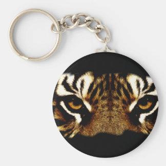 Porte-clés Yeux d'un tigre