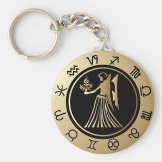 Porte-clés Zodiaque occidental - Vierge