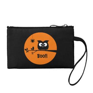 Porte-monnaie Hibou mignon de Halloween + couleurs customisées