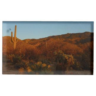 Porte-numéro De Table Paysage de désert du coucher du soleil I Arizona