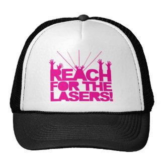 Portée pour les lasers casquette