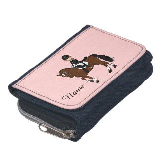 Portefeuille Cadeaux pour des filles - chevaux d'amour d'I - ca