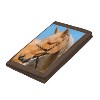 Portefeuille de Brown de cheval