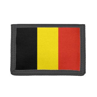 Portefeuille de drapeau de la Belgique