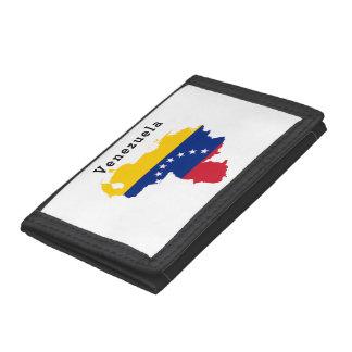 Portefeuille de photo de drapeau du Venezuela