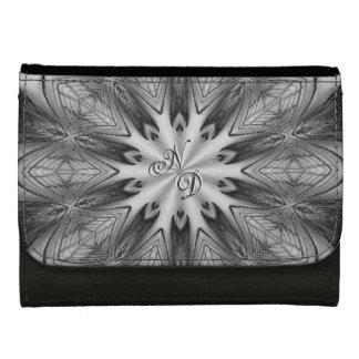 Portefeuille vintage de conception de kaléidoscope