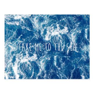 Portez-moi à la mer cartes postales