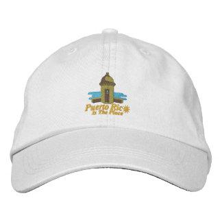 Porto Rico est le casquette brodé par endroit