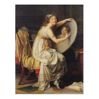 Portrait d'Adelaïde rose Ducreux Carte Postale