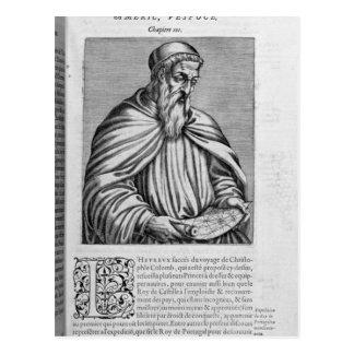 Portrait d'Amerigo Vespucci Carte Postale